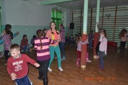 Dyskoteka walentynkowa w Szkole Podstawowej w Olszanach -2