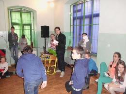 Dyskoteka walentynkowa w Szkole Podstawowej w Olszanach -3